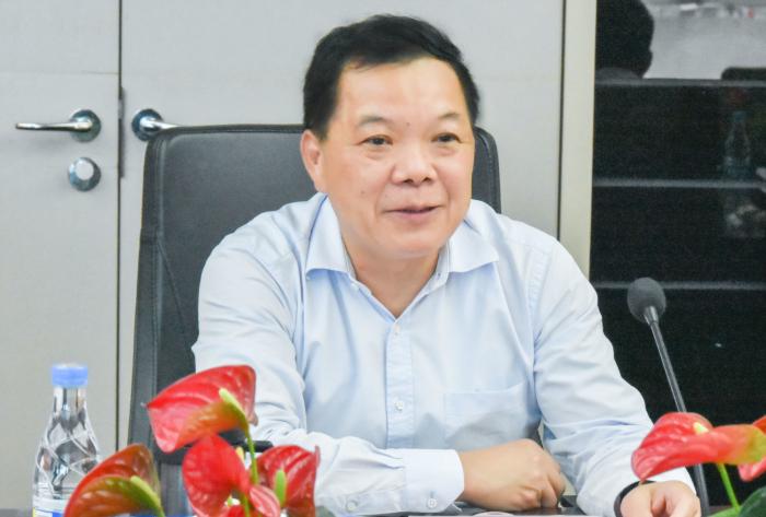 刘海云董事长在会上介绍建艺集团发展情况